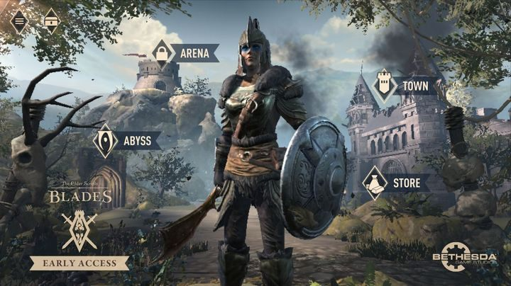 TES: Blades is a role-playing game, and while its not as complicated as the big hits in the series, we advise you to choose the right character race, weapon type, spells and perks - The Elder Scrolls Blades Guide and Tips