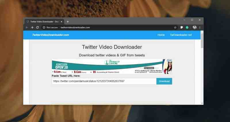 Как скачать видео из твиттера