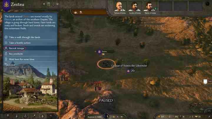 Mount and Blade 2 Bannerlord: управление командой - Руководство