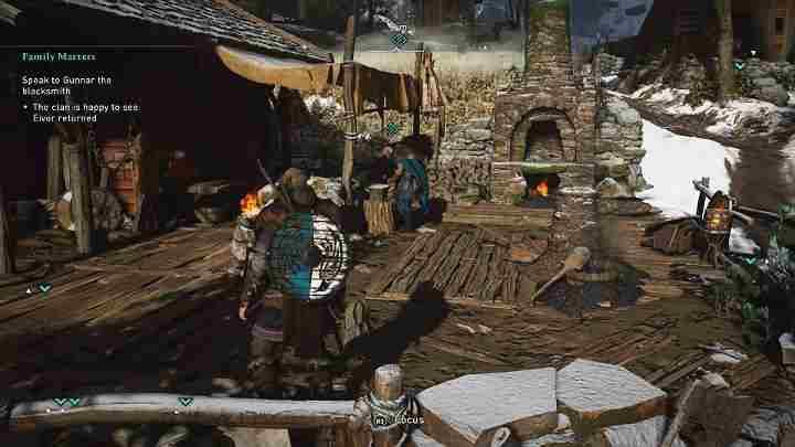 Assassin's Creed Valhalla: Семейные ценности квест