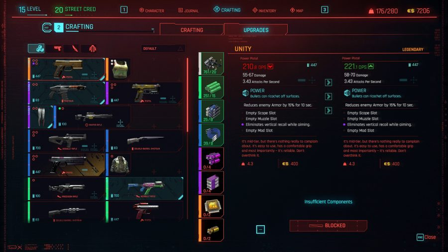 Cyberpunk 2077: Глушитель для оружия - как пользоваться?