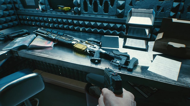 Cyberpunk 2077 Оружие - все виды оружия