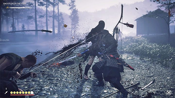 You can try a standoff for the first time during the prologue - Ghost of Tsushima: Direct combat - Samurai style - Basics - Ghost of Tsushima Guide