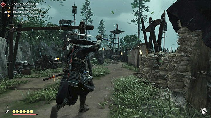 Jin can also encounter enemy archers and be forced to defend against their attacks - Ghost of Tsushima: Direct combat - Samurai style - Basics - Ghost of Tsushima Guide