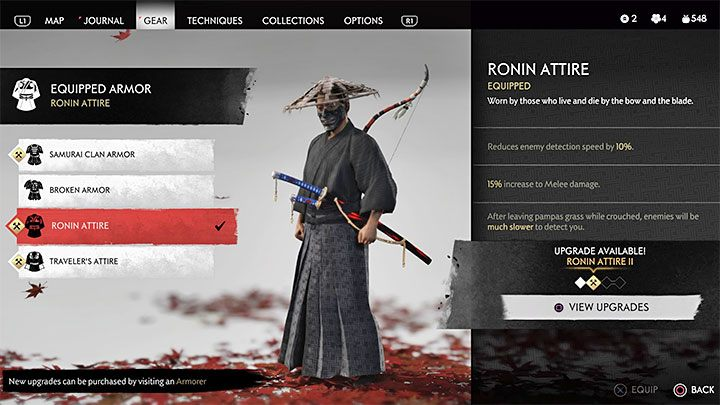 Ronin Attire is an ideal choice for